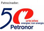 Logo Petronor 50 aniversario
